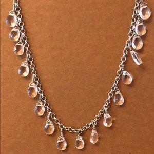 Silpada Jewelry - Silpada 💎 Rare N1661 Crystal Drop SS Necklace